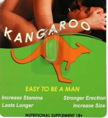 The Kangaroo Power pills.