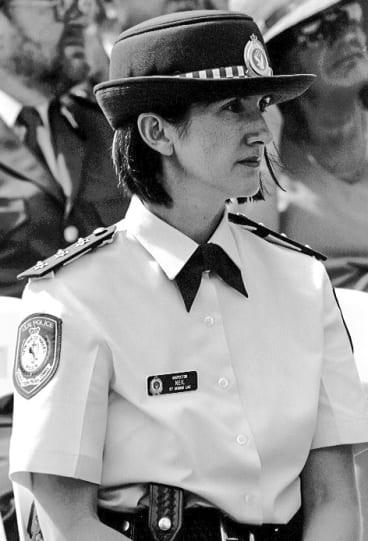 Belinda Neil medically retired from the NSW Police in 2005, two years after she was diagnosed with post-traumatic stress disorder.