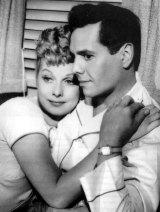 Lucille Ball and husband Desi Arnaz.