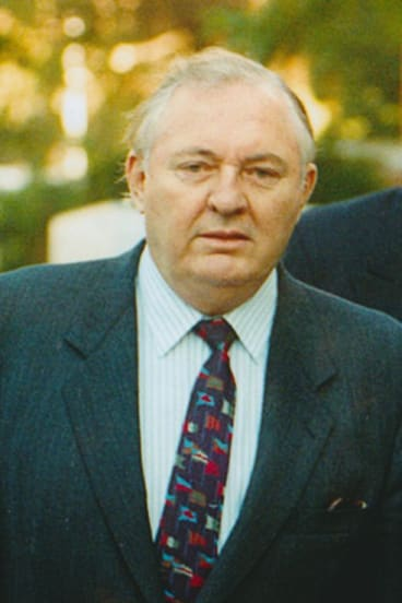 Alan Bond in 1994, three years after his business empire collapsed, owing billions.