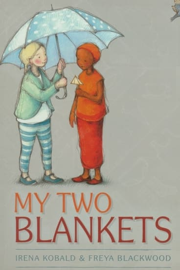 <i>My Two Blankets</i> was named Picture Book of the Year.