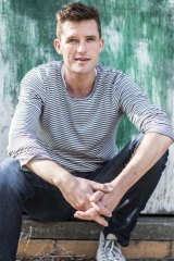 On stage: Daniel Frederiksen is in the Brecht play The Good Person of Szechuan.