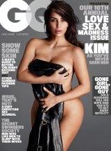 Kim Kardashian on the cover of <i>GQ</i>.