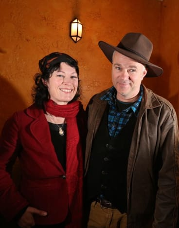 Film makers, Amy Scully and Russell Kilbey have made a documentary, <i>The Man from Coxs River.</i>
