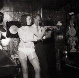The Crazy Horse Saloon was founded in 1951 by a shopkeeper's son called Alain Bernardin (right).