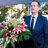 Opposition Labor leader Bill Shorten has also attended the Lantern Festival.