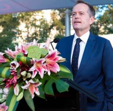 Opposition Labor leader Bill Shorten has also attended the Lantern Festival.