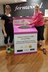 Share the Dignity donation bins have been distributed to more than 1000 sites across Australia.