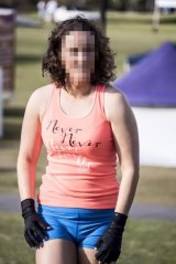 A 63kg Gold Coast woman said a Lorna Jane employee told her to lose weight and hide evidence of her arthritis to work for them as a fitness model.