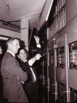 Australia's second computer: The SILLIAC at the University of Sydney.