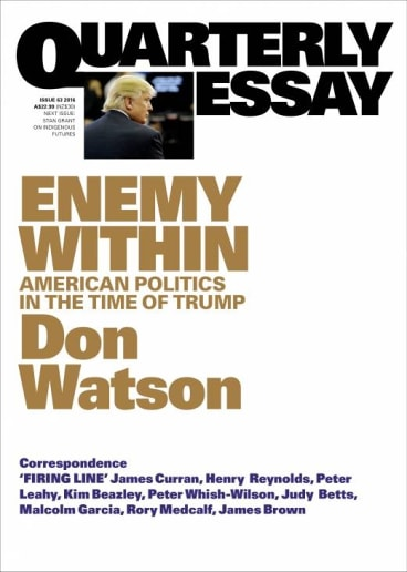 <i>Enemy Within</i> by Don Watson.