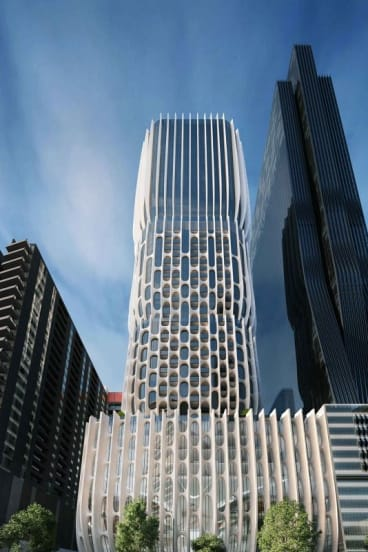 The $300 million high-rise.