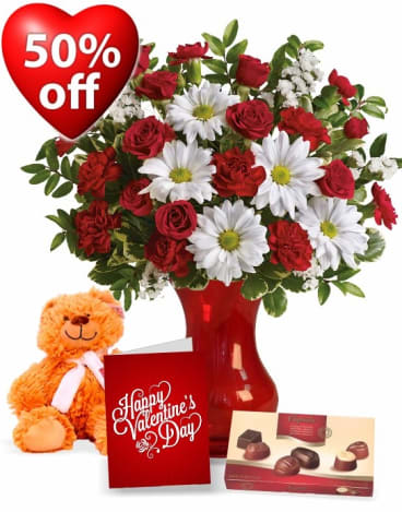 """Ready Flowers and Bloomex are trying to attract customers with """"discounted"""" Valentine's Day products."""
