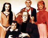 Butch Patrick (second from left) as Eddie Munster in the cult 1960s TV show.
