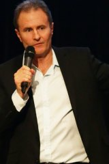 Newcastle ABC radio presenter Craig Hamilton.