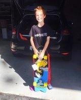 Banjo Pilon, pictured on his 10th birthday.
