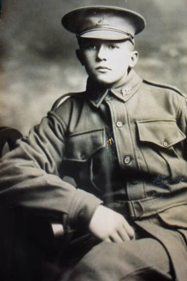 Alec Campbell during World War I.