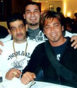 The Ibrahim brothers (from left to right) Sam, Michael and John Ibrahim.