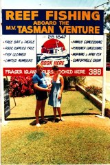 Jill and husband Brian Perry bought the Tasman Venture charter fishing business in 1986, when their daughter was three months old.