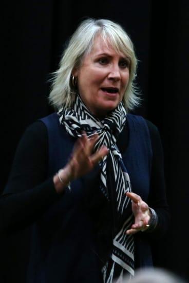 Melbourne director/writer/walker/agnostic Ailsa Piper.