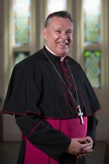 "Most Reverend Timothy Harris of the Catholic Diocese of Townsville, who has expressed concern about ""projected mega-mining developments across Queensland, especially the Galilee Basin""."