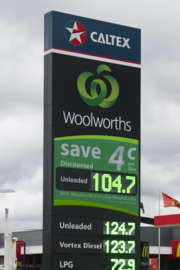 By Wednesday morning prices were back above $1 at Woolworths.