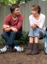 Till death us part: Ansel Elgort and Shailene Woodley in The Fault in our Stars.