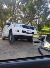 A speed camera operator got bogged in Baldivis yesterday
