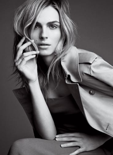 Andreja Pejic in the May 2016 issue of Vogue.