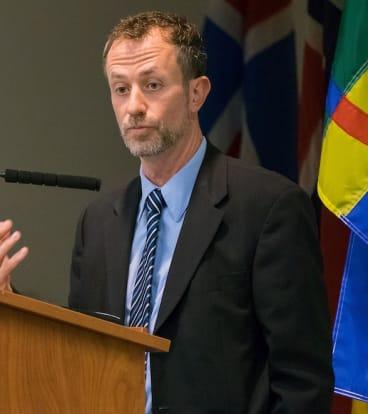 Professor Stephen Mihm of the University of Georgia.