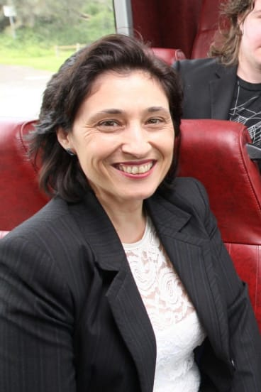 Energy Minister Lily D'Ambrosio.