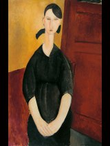 """Amedeo Modigliani's """"Portrait of Paulette Jourdain"""", which has been estimated at up to $US35 million."""