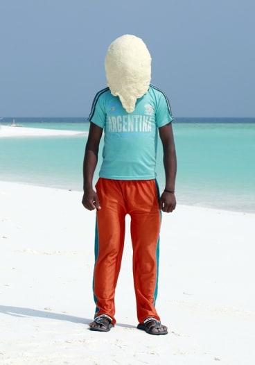 Yosuf, Maldives, 2011. From Dough Portraits.