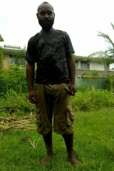 Orphan Jacob (pictured) met Mr Sawari on the streets of Lae and took him to a church.