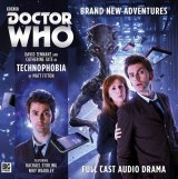 Doctor Who Technophobia CD sleeve.