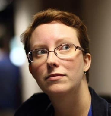 Prolific Wikipedia editor: Academic Adrianne Wadewitz.