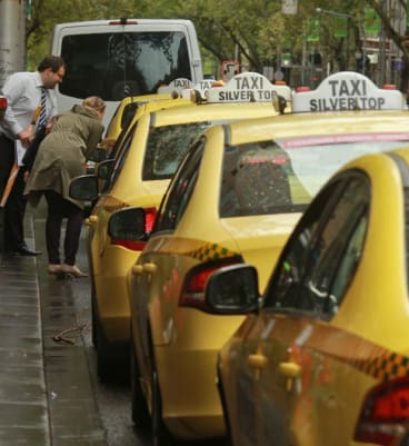 Taxi companies lobbied for regulation of Uber app.