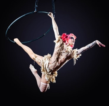 Circus Wonderland is an old-school style circus show complete with agile acrobats, a powerful strongman and entrancing gypsy.