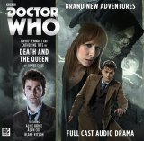 Doctor Who CD sleeve Death and The Queen