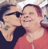 Moana Hope and mum Rosemary