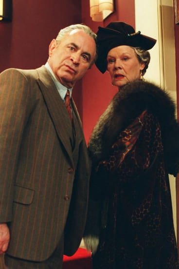 Bob Hoskins and Judi Dench in 'Mrs Henderson Presents'.