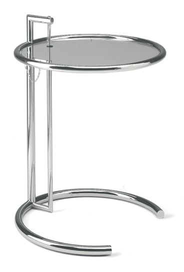 Eileen Gray's most well-known design, her adjustable table.