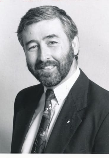 ACT Attorney-General Gary Humphries in 1996.