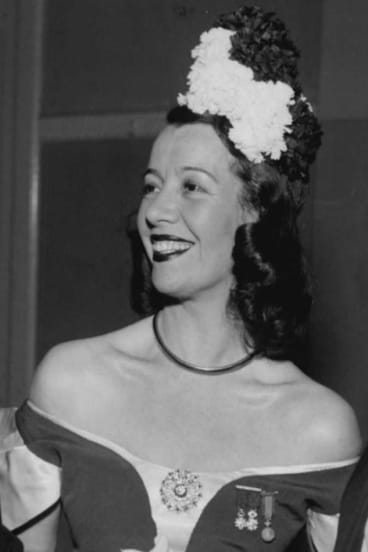 French opera singer Lily Pons could hit the high notes.