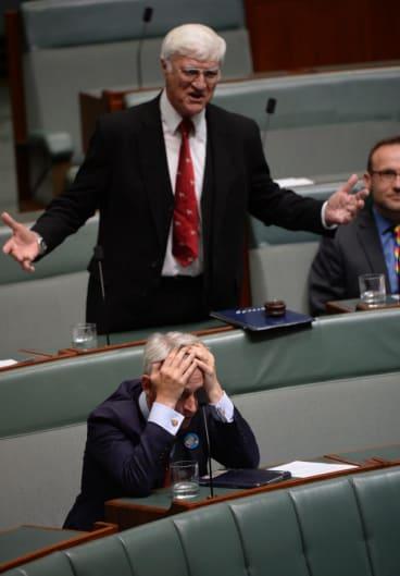 "An MP reacting to Bob Katter's ""rubbish"" anti same-sex marriage speech on Thursday."
