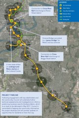 The new Brisbane Metro will achieve a frequency of 90 seconds between Woolloongabba and Roma Street.