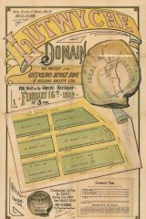 The Lutwyche Domain situated in the Brisbane suburb of Kedron, up for grabs in 1889.
