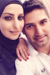 Mahassen Issa with her new partner Mohammed Awick.