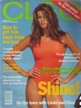 Cleo in 1993 with Elle Macpherson.