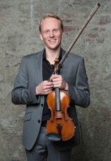 Dale Barltrop introduced the Sonata for violin and piano No.10 in G major, Op. 96 as his favourite of the Beethoven violin sonatas at Selby and Friend's final concert of 2015.